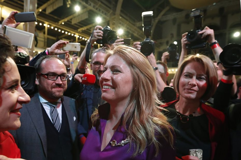 Slovakia First Female President is an Environmental Activist