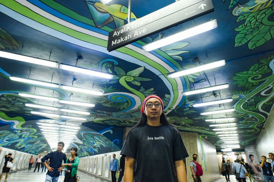 Mural in Makati underpass sends environmental message