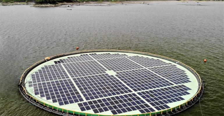 Philippines Switches On its First Floating Solar Power Project