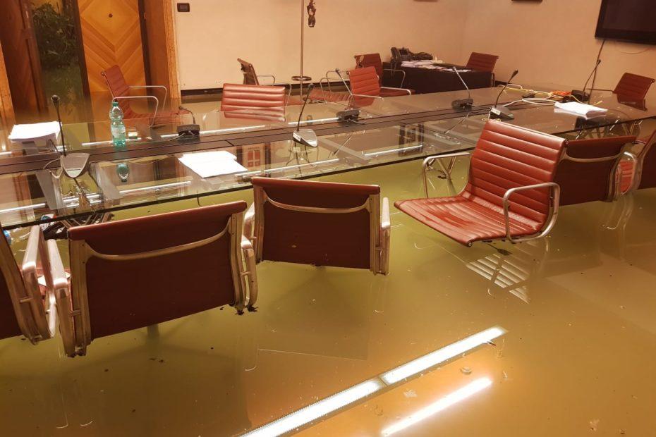 Unprecedented flooding Italy