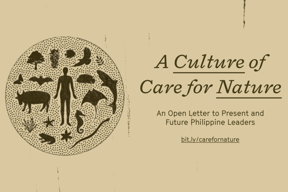 A Culture of Care for Nature: An Open Letter to Present and Future PH Leaders