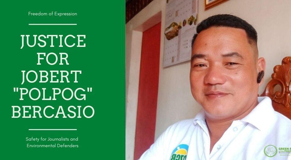 GPP-KALIKASAN MUNA Condemns the Killing of Sorsogon Journalist Polpog