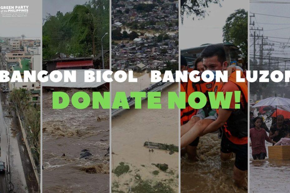 Bangon Bicol - Donate Now!