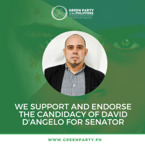 David D'Angelo Files Candidacy as Green Senator in 2022 Elections